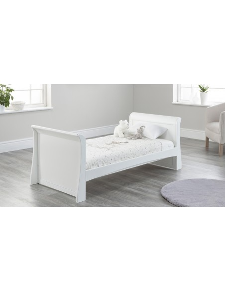 Lillian Toddler Bed in White colour with no drawer