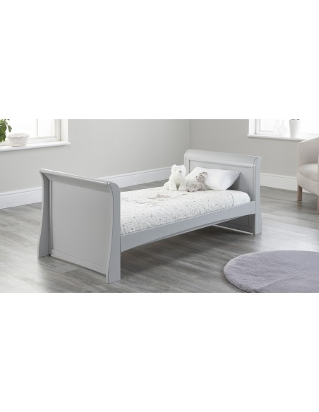 Lillian Sleigh Toddler Bed in Grey colour with no Drawer
