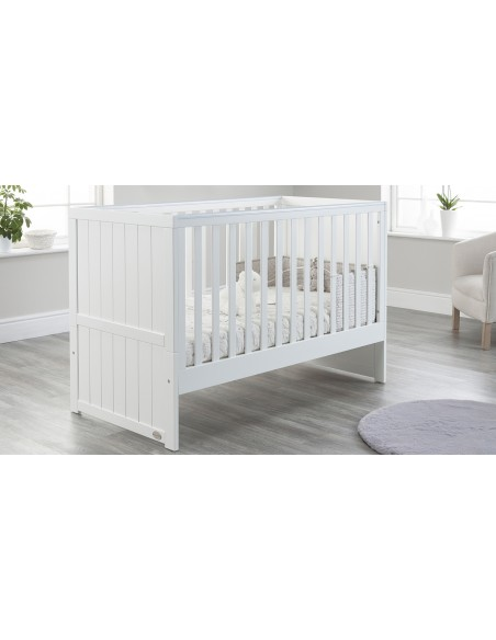 Jo Modern Cot Bed in White colour with no Drawer
