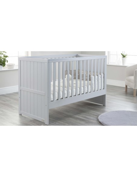 Jo Modern Cot Bed in Grey colour with no Drawer