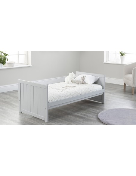 Jo Modern Toddler Bed in Grey colour with no Drawer