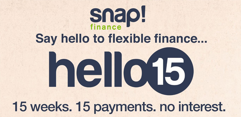 Flexible Finance option
